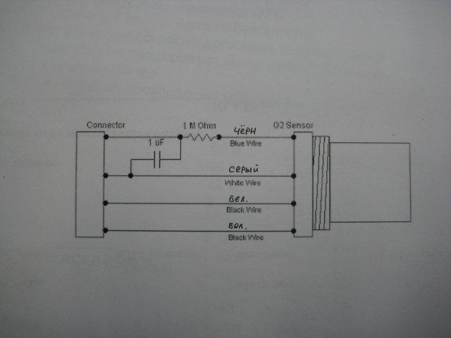 схема обманки для катализатора.