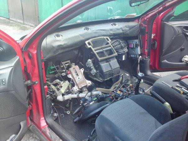 Форд фокус 2 как снять прикуриватель