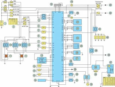 Схемы электрики almera n16
