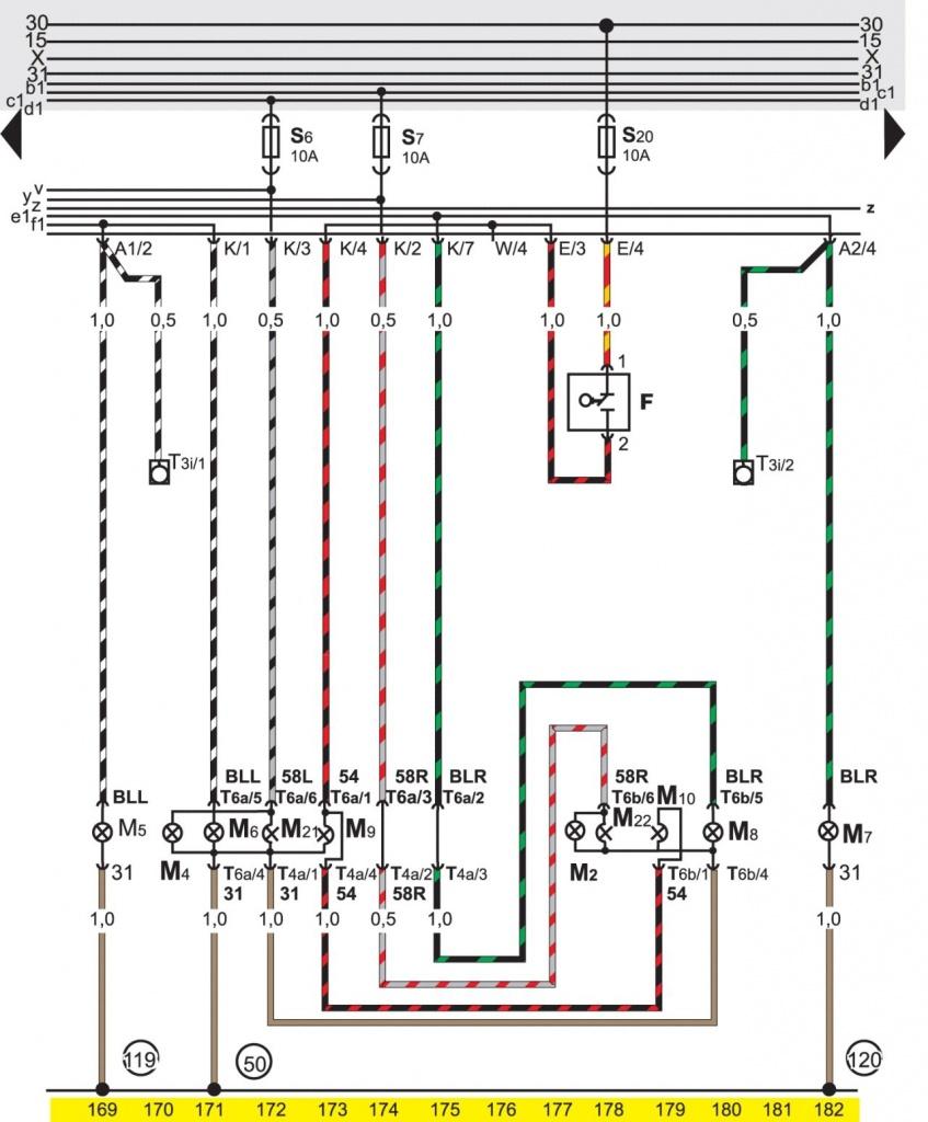 Пассат б3 схема катушки