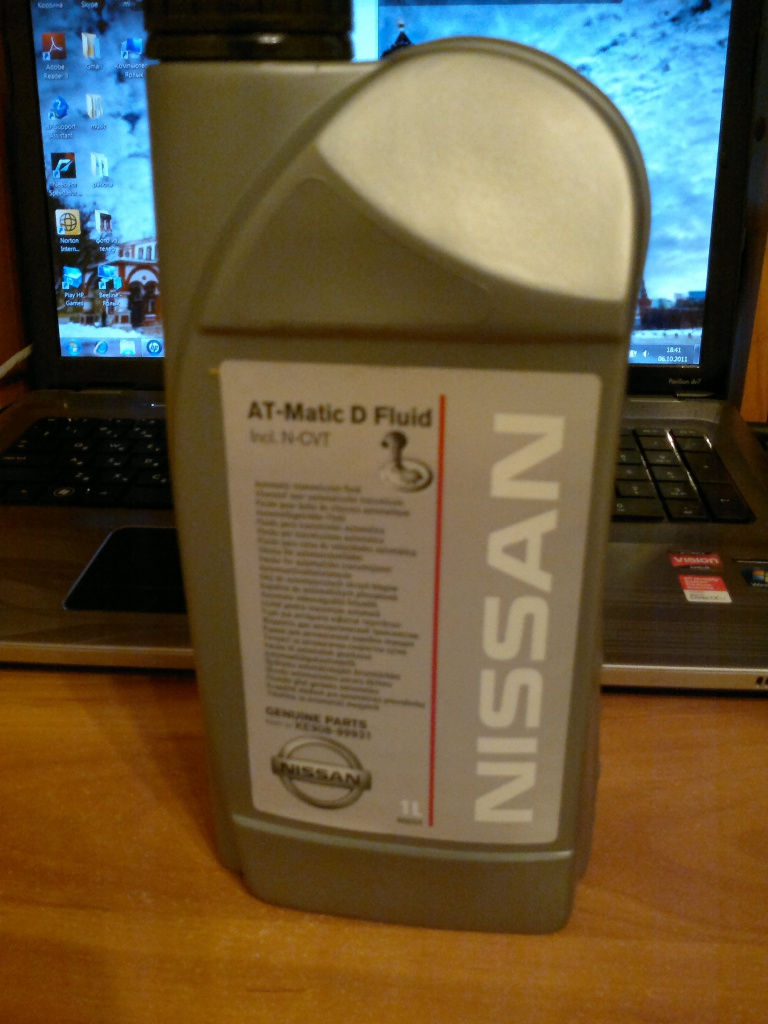 Масло в акпп ниссан альмера n16 своими руками