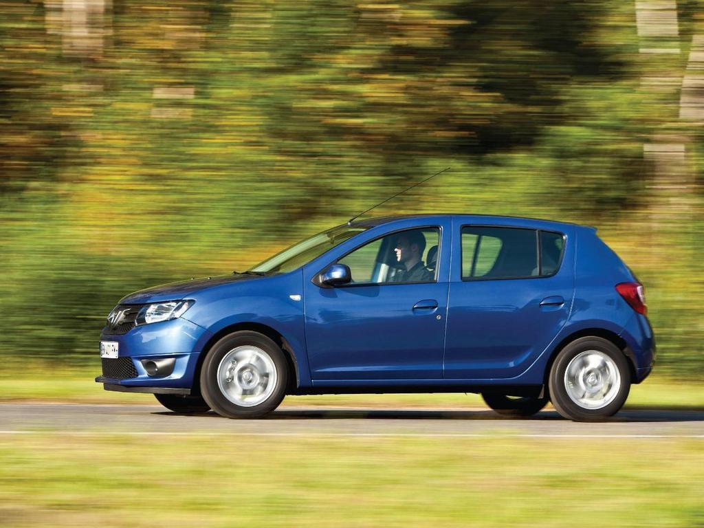 Премьера новой Dacia Sandero…