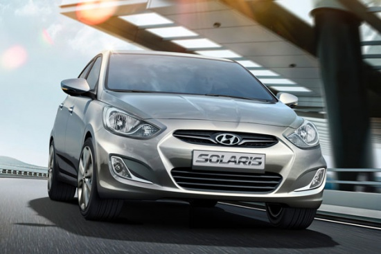Hyundai Solaris - продано 70 тысяч