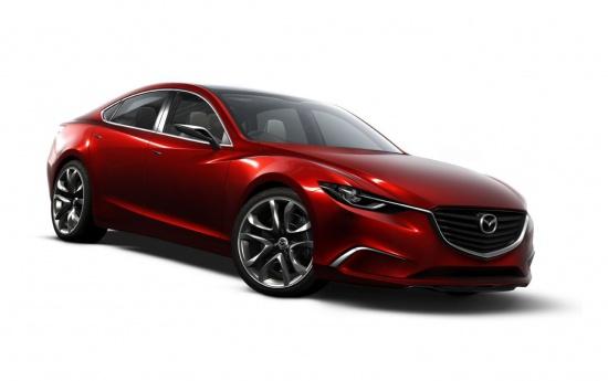 Прототип новой Mazda 6 - скоро, в Токио