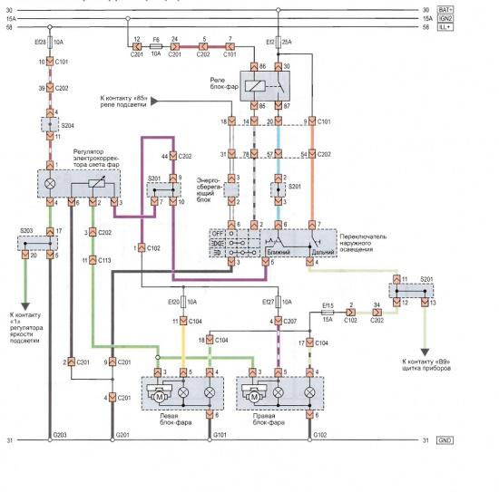 Принципиальная схема телевизора multitec ctv-2800 Панель управления электрокорректора фар после сбора схемы...