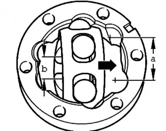 При установке необходимо ориентировать корпус и обойму таким образом, чтобы при повороте сепаратора больший...