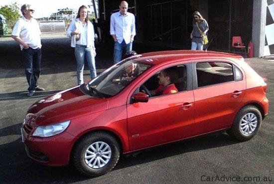 Volkswagen сделал автомобиль для карликов