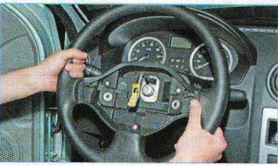 Renault trafic как снять руль