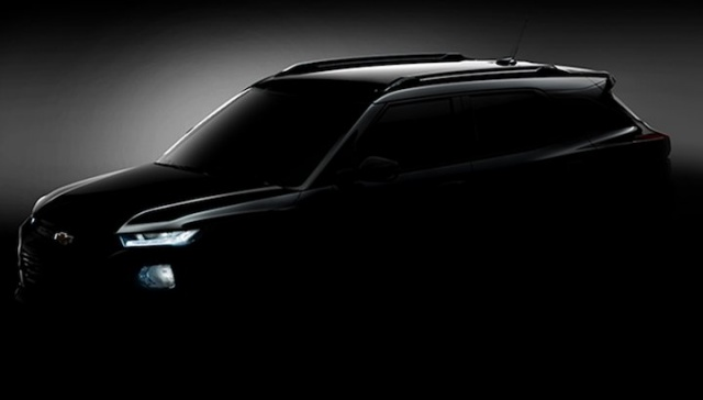 Тизер Chevrolet TrailBlazer 2020