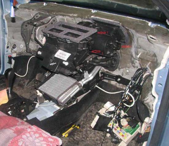 форд фокус 2 ремонт кондиционера видео