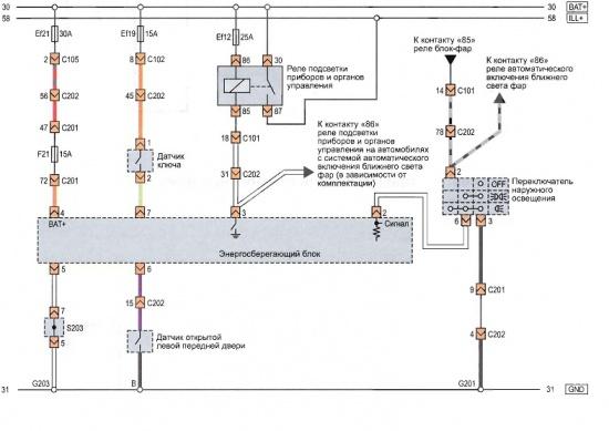 От.  Общий. mATr1xX. комментариев.  Принципиальная схема энергосберегающего блока. написал 16.02.11.