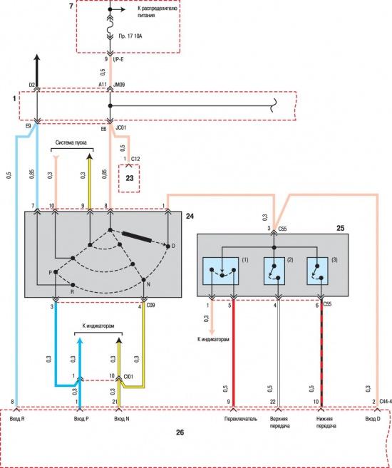 Автоматическая коробка пердач электрическая гидравлическая схема 08/11/2013.
