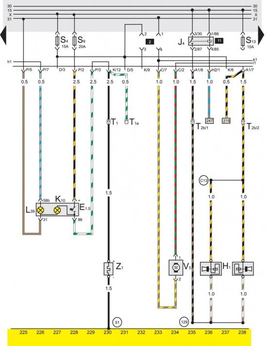2e vw b3 на предохранитель двигатель заднего света хода. г.иваново автошкола ул. ташкентская.