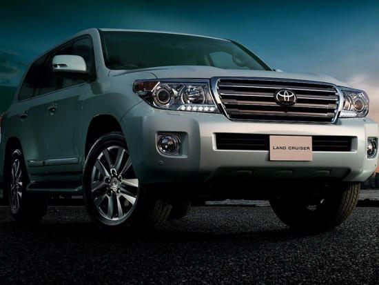 Обновленный Toyota Land Cruiser 200 - премьера
