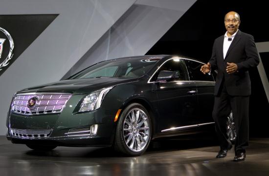 Cadillac показал в Лос-Анджелесе новый флагман XTS