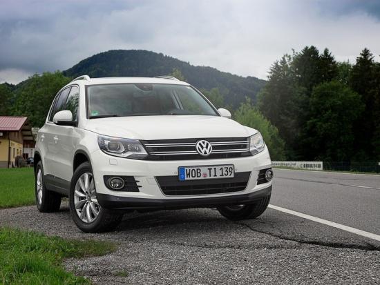 Новый Volkswagen Tiguan - российские цены