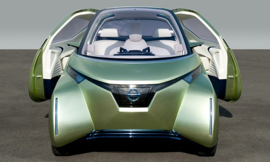 Nissan привезет в Токио электромобиль Pivo 3
