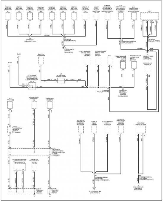 14.28.3 Система зарядки.  Схемы электрических соединений - общая информация Ввиду ограниченности места включить в...