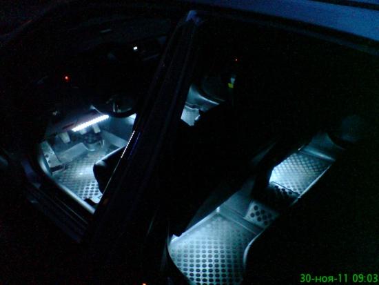 Подсветка ног лансер 10 своими руками 38