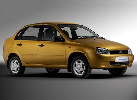 Седан Lada Kalina перестанут выпускать в 2011 году