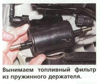 Замена топливного фильтра на дэу матиз
