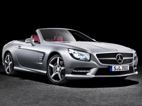 Новый Mercedes SL - официальные фото