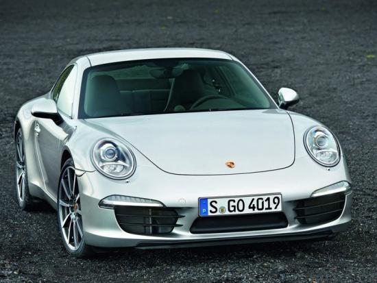 Новый Porsche 911 - первое фото
