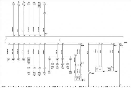 Электрическая схема пробника контакт 53.  Электрические схемы.