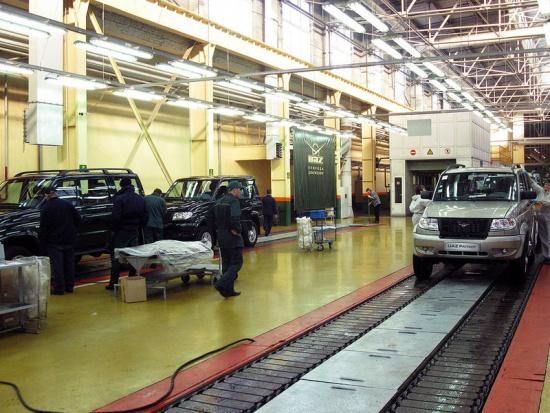 УАЗ выпустил первые машины с двигателем Евро-4 и АБС