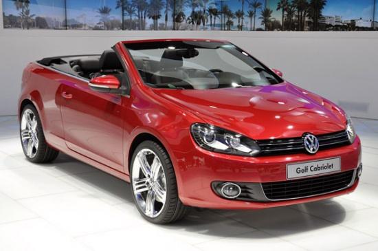 Женева 2011: новый Volkswagen Golf Cabriolet