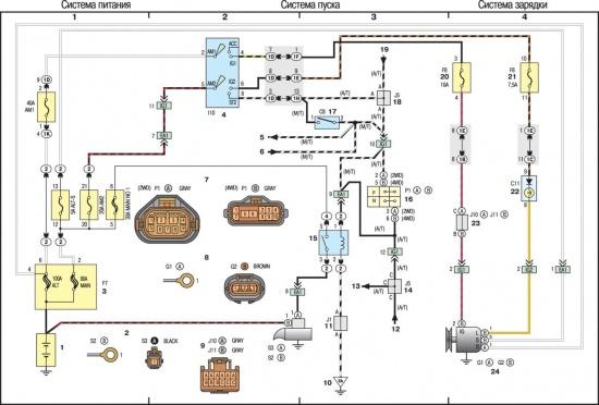Схемы электрические устройства зарядки щелочных батарей.