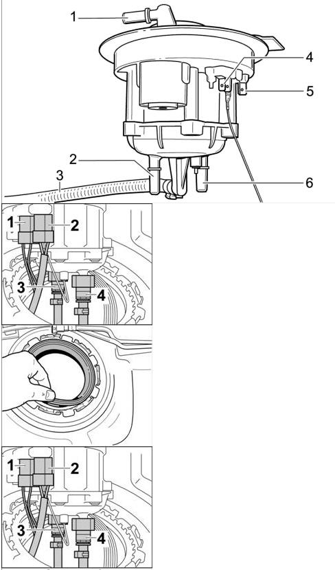 замена топливного фильтра в porsche cayenne