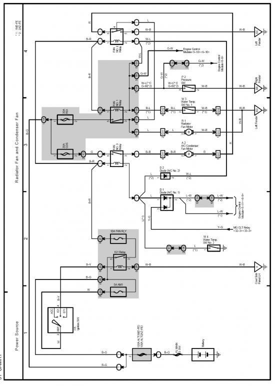 Схема электрики климат-контроля.  Цвет соответствия маркировки проводов в схеме и в двигателе может отличаться...