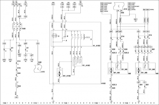 Corsa C Принципиальная схема. топливный насос, Motronic 7.6.1.