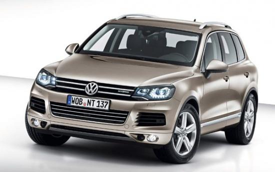 Гибрид VW Touareg - старт продаж в Росиии