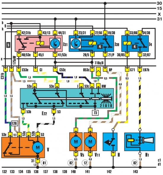 Е22 – выключатель прерывистого