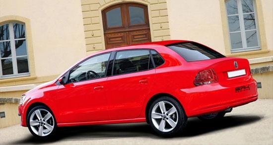Volkswagen привез в Россию новый бюджетный седан