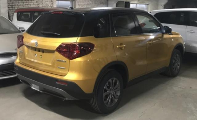 Новый эффектный цвет желто-золотой