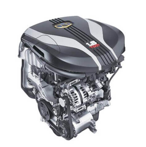 Общий вид двигателя JLE-4G18TD