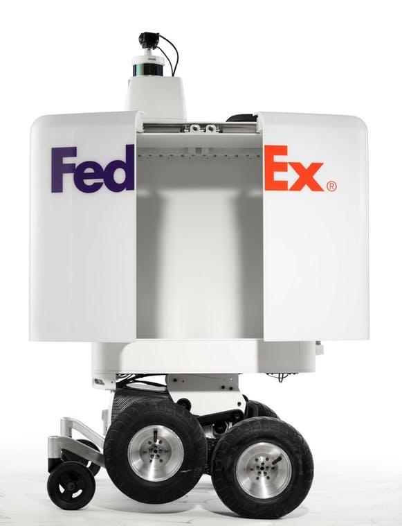 SameDay Bot автономный робот-доставщик