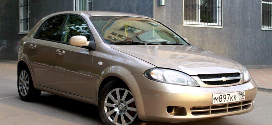 Обзор Chevrolet Lacetti 2007