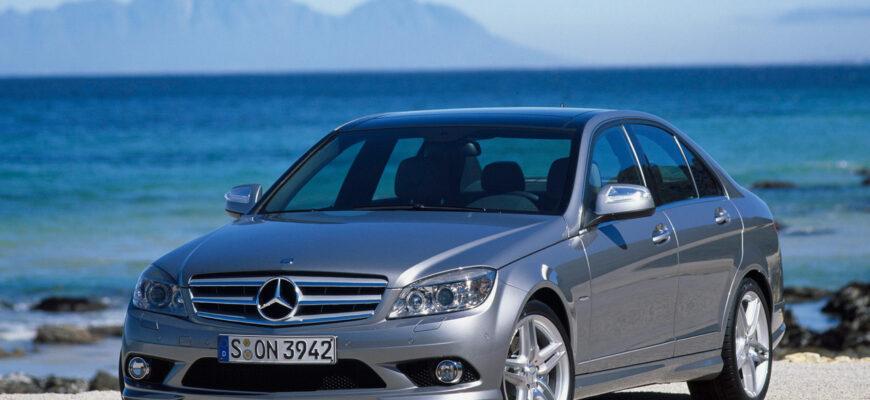 Тест-драйв Mercedes C-class 2007: тет-а-тет с легендой
