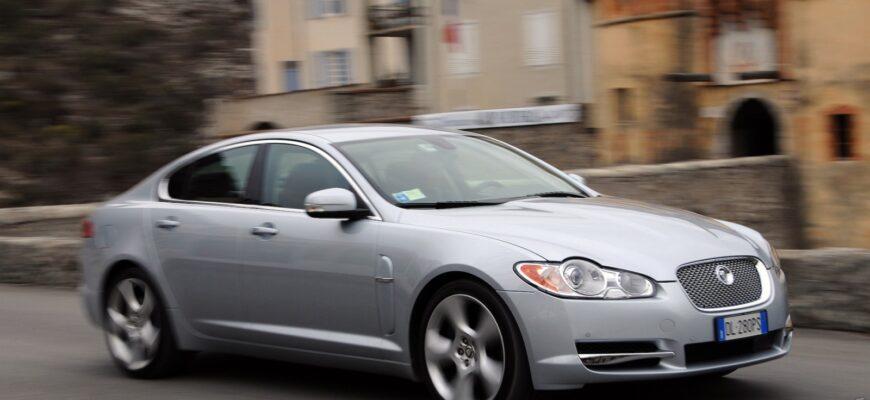 Jaguar XF 2007: симфония прагматизма