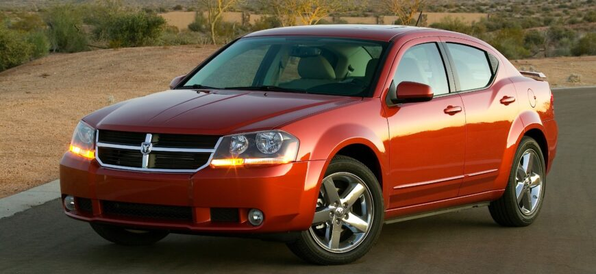 Dodge Avenger 2008: имидж – ничто!