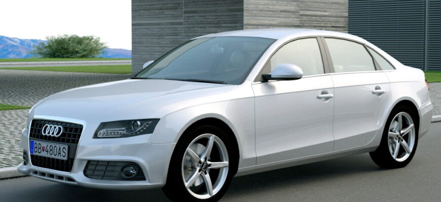 Обзор Audi A4 2008: законодатель мод