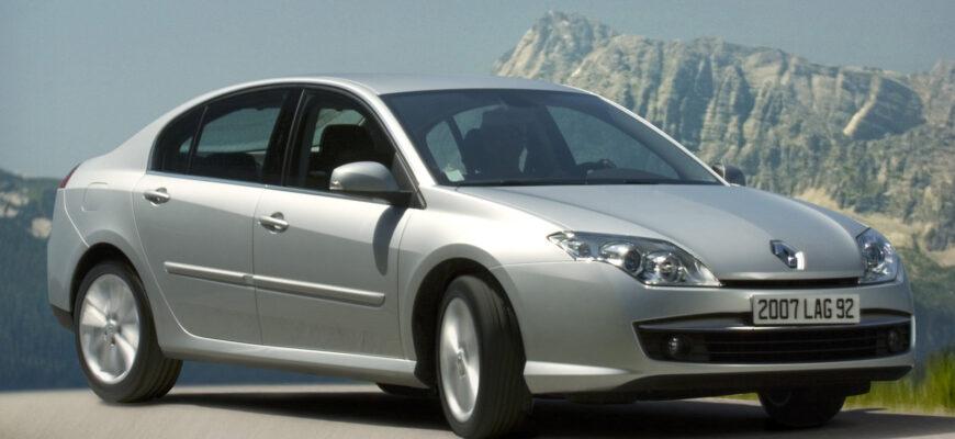 Обзор Renault Laguna третьего поколения 2008