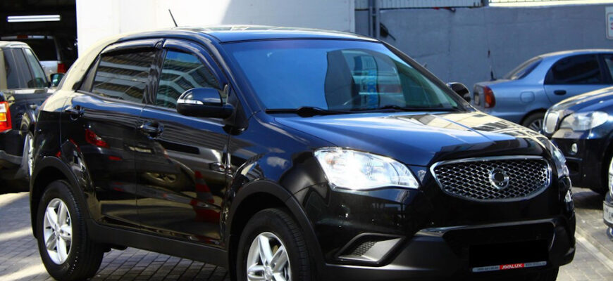 Обзор SsangYong Actyon 2011