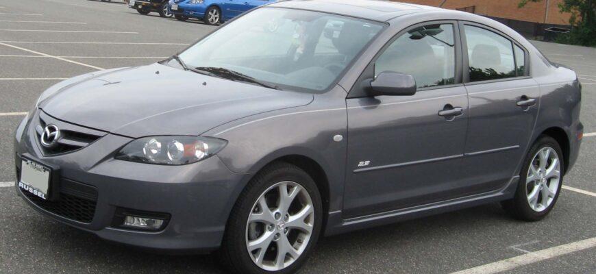Обзор Mazda 3, Honda Civic, Mitsubishi Lancer 2007