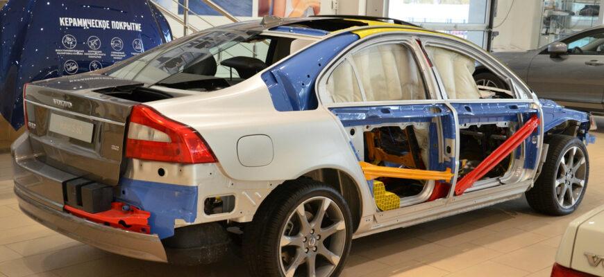 Обзор Volvo S80 2008: безопасность в разрезе