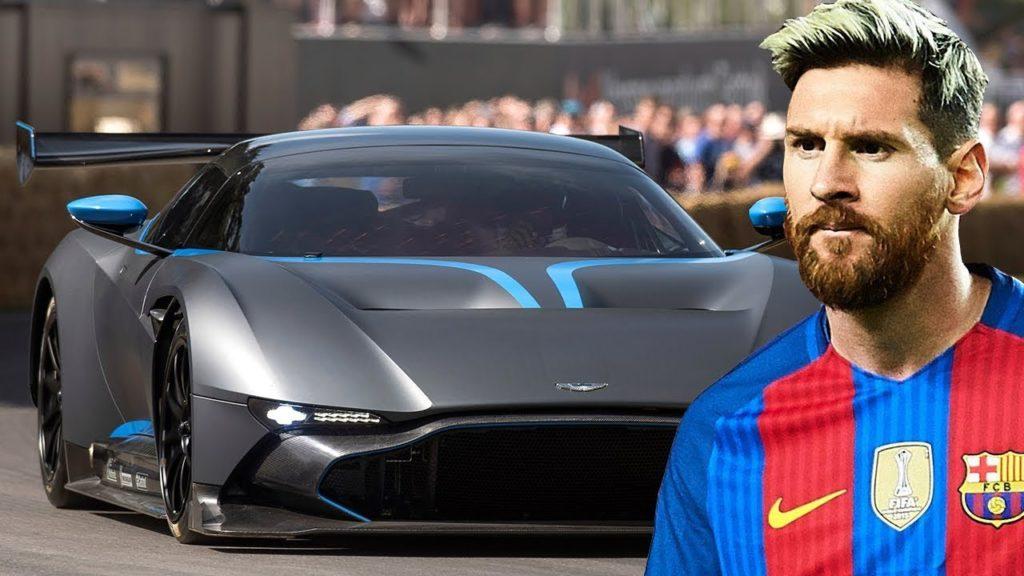 Потрясающие автомобили футболиста Лионеля Месси